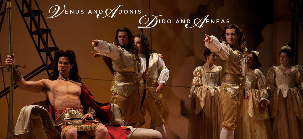 Great Lakes Baroque and Florentine Opera present John Blow's VENUS AND ADONIS and Henry Purcell's DIDO AND AENEAS [Image © by Florentine Opera]